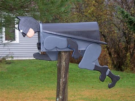 creative funny handmade mailbox designs style