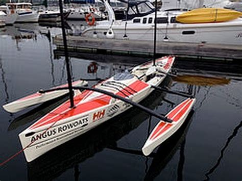 Trimaran Inside Passage by Rowcruiser The Ultimate Sailing Canoe