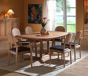 Fine Dining Room Tables Solid Wood Wharfside Danish
