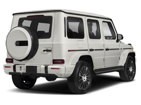However, the company doesn't offer any. New 2020 Mercedes-Benz G-Class G 550 4MATIC SUV MSRP Prices - NADAguides