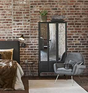 Dressing Maison Du Monde : dressing indus roulettes en m tal noir peter maisons ~ Nature-et-papiers.com Idées de Décoration