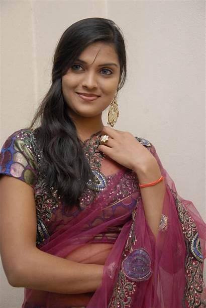 Actress Wallpapers Tollywood Prakruti Navel South Saree