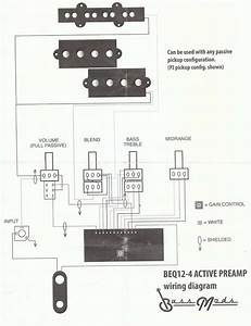 Help With Bass Mods Preamp Wiring
