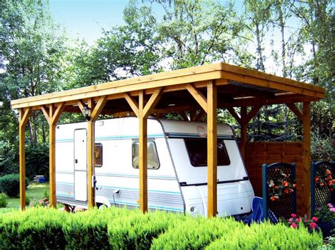 Post And Beam Carport