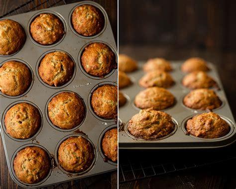 easy banana nut muffins  sweet pea chef