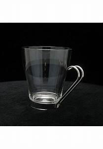Tasse En Verre : tasse en verre avec anse tasse verre logo ~ Teatrodelosmanantiales.com Idées de Décoration