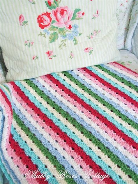 shabby chic crochet blanket pattern heart handmade uk shabby chic home and craft inspiration