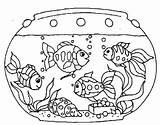 Fish Tank Coloring Clipart Aquarium Tanks Printable Clip Georgia Goldfish Colouring Mutiple Template Ausmalbilder Fische Netart Drawing Onlycoloringpages Bowl Sheets sketch template