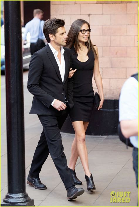 john stamos girlfriend caitlin mchugh   happy