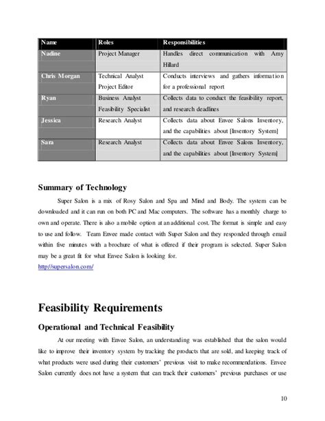 Salon Manager Roles And Responsibilities by Envee Salon Database Design