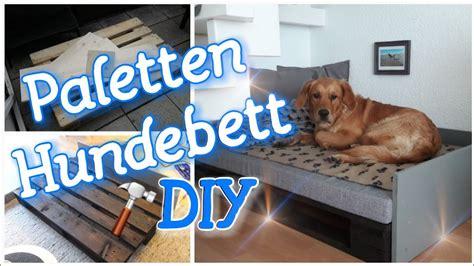 hundebett selber bauen hundebett aus europaletten anleitung wohn design