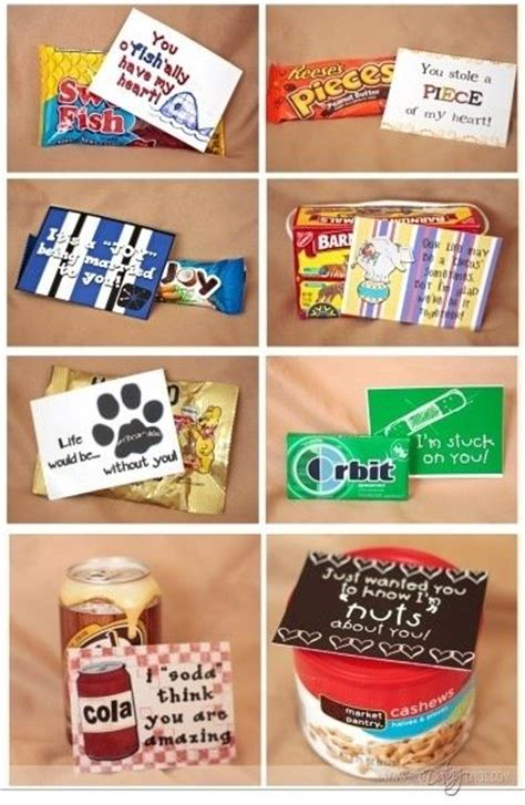 cute 12 days of christmas gift ideas for boyfriend diy favor ideas quot just wanted you to how nuts i am about you friend quot quot i soda