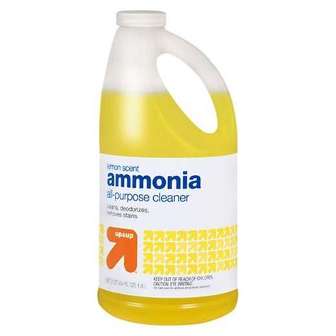 ammonia cleaning ammonia lemon scent 64 oz up up target