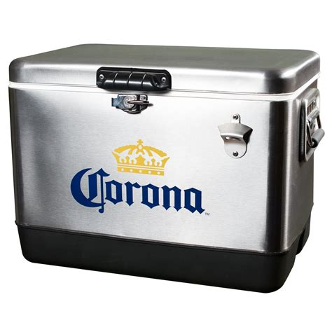 box of tons corona stainless steel cooler 54 quarts