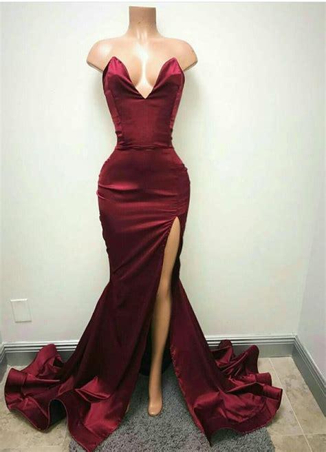 burgundy color prom dress 25 best ideas about burgundy dress on formal