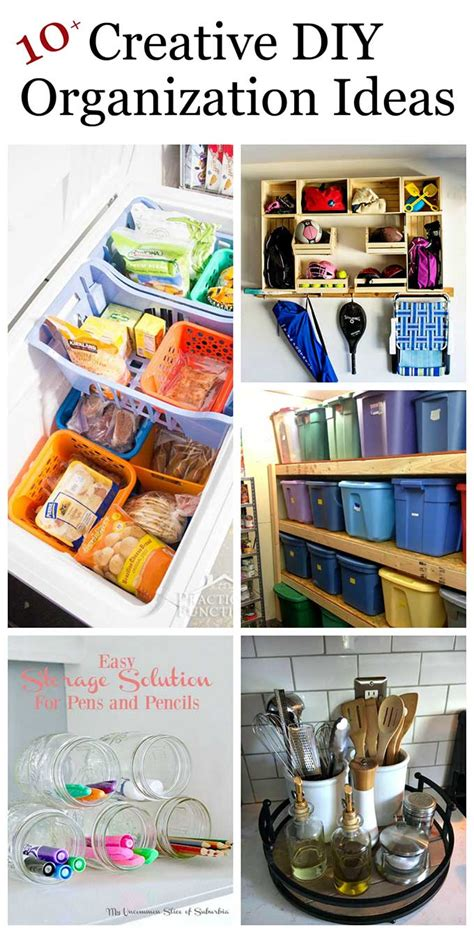 Diy backyard project ideas are not only a breeze to accomplish but make for truly enjoyable summertime ventures. Creative DIY Organization Ideas For Home - House of Hawthornes