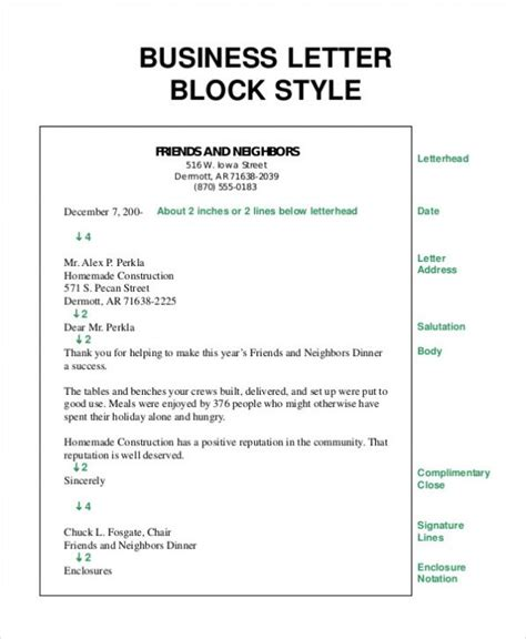 aplication leter block style exle how to write a business letter how to write a formal
