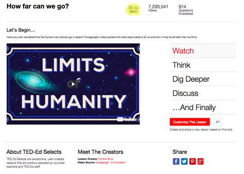 How Far Can Limits Humanity Video For