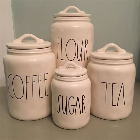 Kitchen Canisters Flour Sugar by 17 Best Ideas About Tea Canisters On Coffee