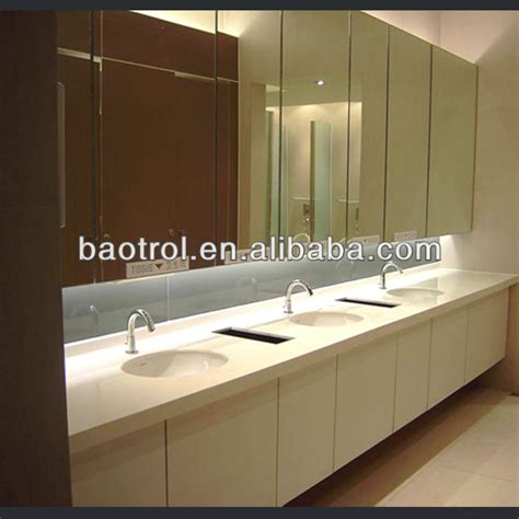 Solid Surface Integrated Bathroom Sink Composite Resin