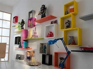 Cube De Rangement Mural : 30 rangements muraux pour un gain de place assur des id es ~ Dailycaller-alerts.com Idées de Décoration