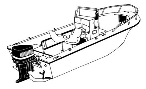 Bow Clip Boat by Carver Boat Covers For Center Console Fishing Boats With
