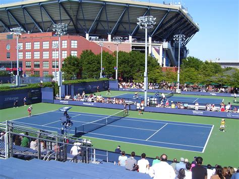 Filenational Tennis Center Outside Courts And Stadium