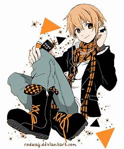 ipod music, orange anime. by rodway on DeviantArt