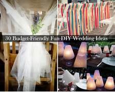 30 Budget Friendly Fun And Quirky DIY Wedding Ideas Outdoor Wedding DIY Ideas POPSUGAR Home The Wedding Contessa Do It Yourself Wedding Ideas Wedding Reception Ideas 1 By Jasmine Star Via Joyful Weddings And