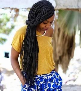 Coiffure Tresse Africaine : coiffures coiffure tresse africaine tenue en couleurs ~ Nature-et-papiers.com Idées de Décoration