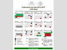 Calendarios Escolares 2016 2017 escolarcommx