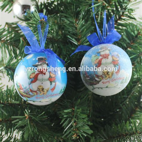 wholesale advertising custom made christmas ornaments