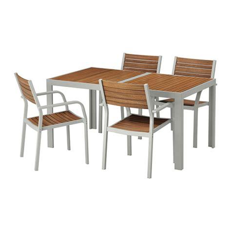 ikea table et chaise själland table and 4 chairs outdoor själland light