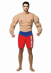 Men's Muscles Costume from Baywatch