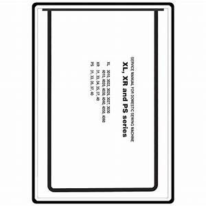 Service Manual  Brother Xr35   Sewing Parts Online