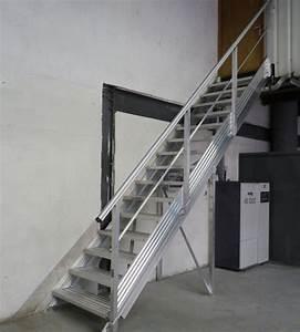 Escalier Métallique Industriel : escaliers industriels passerelles alu et passerelle m tallique ~ Melissatoandfro.com Idées de Décoration