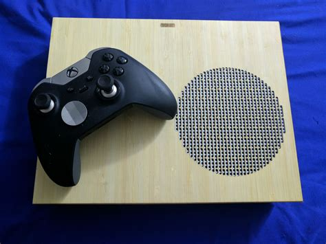 Toast Your Xbox One S Console With A Real Wood