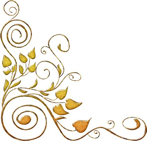 foto de Transparente Arabesco Dourado Png Clipart Full Size