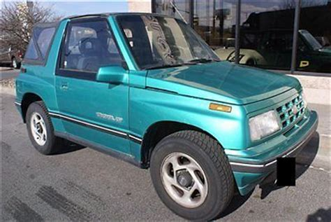 1994 chevy tracker buy used 1994 geo tracker lsi 4x4 soft top convertible
