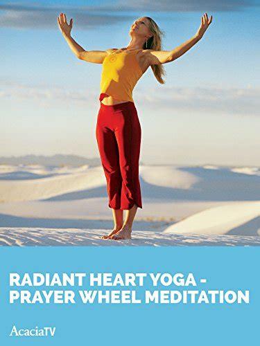 radiant prayer wheel meditation