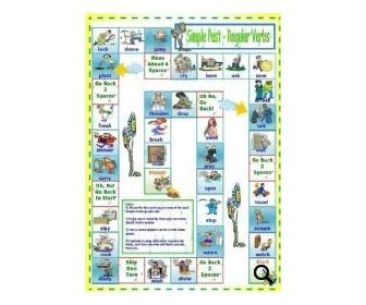 This Is A Board Game For Practising Positive, Negative And