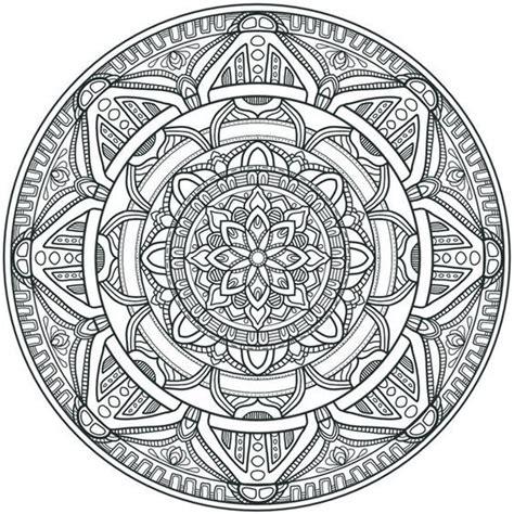 Coloring Krita by Krita Circles Mandala 3 By Welshpixie Print Image