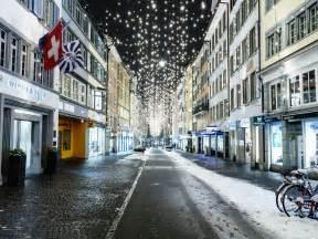 Zurich Switzerland Winter