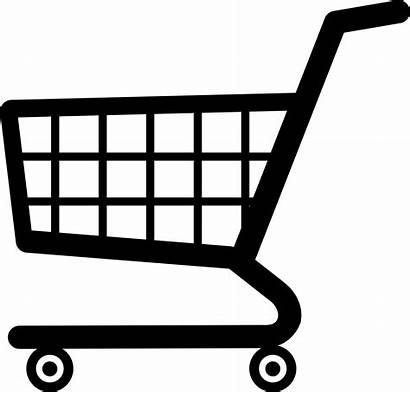 Shopping Cart Vector Clipart Trolley Cartoon Icon