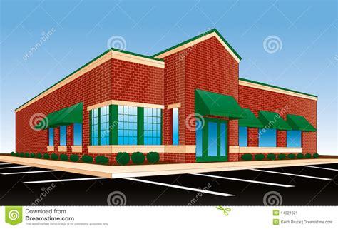 chain restaurant exterior stock illustration image