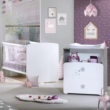 promo chambre bebe pack promo ensemble lit bébé évolutif 140x70 commode à langer pilou baby price pas cher à prix