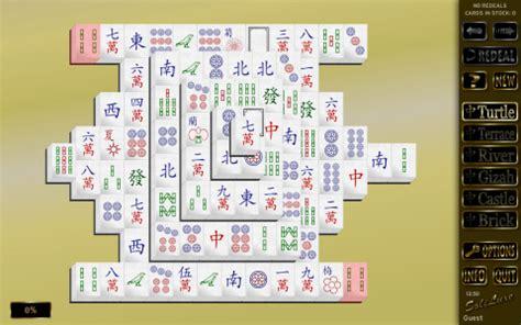 mahjong solitaire tile layouts soliluxe windows linux mac ubuntu java pc solitaire