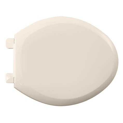 american standard cadet 3 slow close elongated closed front toilet seat in linen 5350 110 222