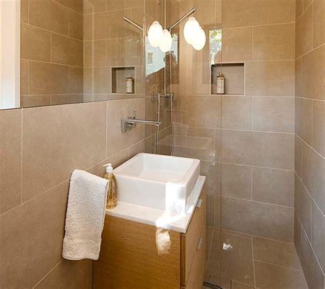 custom bathroom ideas clean lines in a small custom bathroom decoist