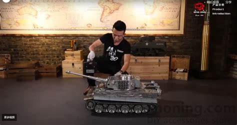 henglong  scale german tiger  rtr rc tank sinoning diy accessories store